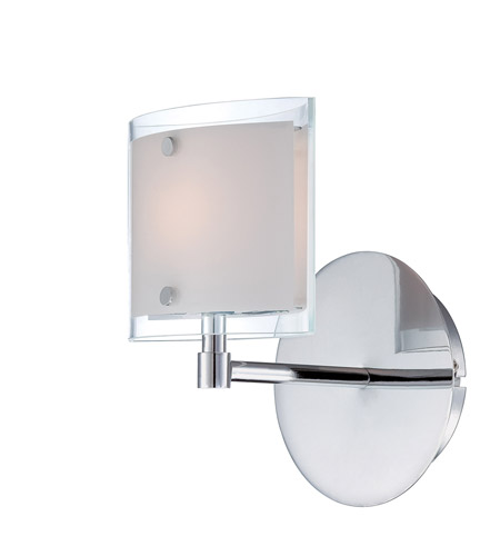 Lite Source LS-16351 Icety 1 Light 6 inch Chrome Wall Lamp Wall Light photo
