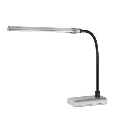 Lite Source LS 22048SILV Ermete 24 Inch 0.1 Watt Silver Desk Lamp Portable  Light Photo