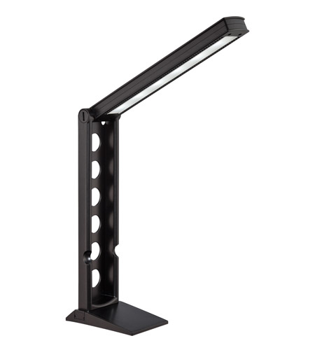 Lite Source LS-22400BLK Galtem 22 inch 6 watt Black Desk Lamp Portable Light