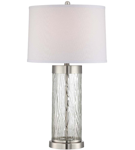 34 Inch Table Ls Lite Source Signature 2 Light L In Polished Steel