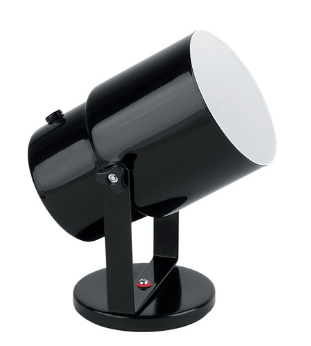Lite Source Pin-up 1 Light CFL Wall Lamp in Black LSF-113BLK photo