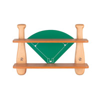 Lite Source Baseball Field Shelf in Natural 12MT40
