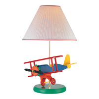 Lite Source Airplane 1 Light CFL Table Lamp 3AP20107