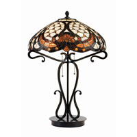 Benard 24 inch 40 watt Dark Bronze Table Lamp Portable Light