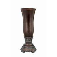 Lite Source Sebastian Vase in Dark Bronze and Smoke C41092