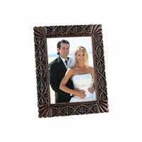 Lite Source Sebastian Photo Frame in Dark Bronze C41094