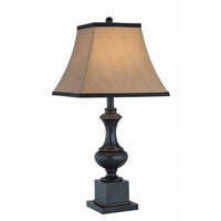 Lite Source C41151 Bandele 27 inch 150 watt Dark Bronze Table Lamp Portable Light