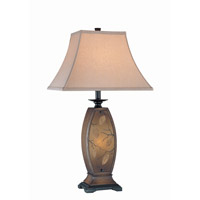 Jaquan 31 inch 32 watt Antique Gold Table Lamp Portable Light