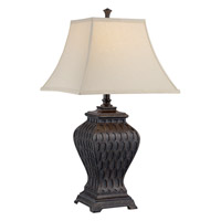 Lite Source Kemp 1 Light Table Lamp in Aged Bronze C41305