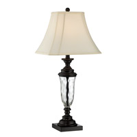 Lite Source Hudson 1 Light Table Lamp in Black C41307