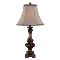 Lite Source C41320 Signature 31 inch 23 watt Dark Bronze Table Lamp Portable Light