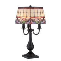 Lite Source Thasos 3 Light Table Lamp in Dark Bronze C41338