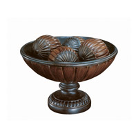 Lite Source Greco Table Top Decor in Dark Bronze and Antique Gold C4997