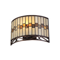 Lite Source Omora 1 Light Wall Sconce in Dark Bronze C71154-W