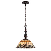 Kyleigh 1 Light 15 inch Dark Bronze Pendant Ceiling Light