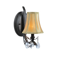 Lite Source Macy 1 Light Wall Lamp in Dark Bronze C71284-W