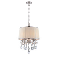 Valentine 5 Light 18 inch Nickel Pendant Ceiling Light