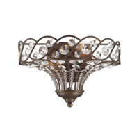 Lite Source Signature 2 Light Wall Sconce in Mocha C71333-W