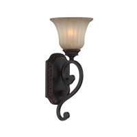 Signature 1 Light 7 inch Antique Bronze Wall Sconce Wall Light