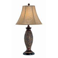 Gentry 31 inch 25 watt Dark Bronze Table Lamp Portable Light