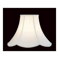 Lite Source Accessories Shade in Antique Satin Scallop with Trim CH107-16