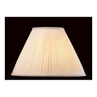 Lite Source Accessories Shade in Mushroom Pleat CH111-17