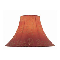 Lite Source Accessories Shade in Red Jacquard CH1147-18