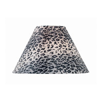 Lite Source Accessories Shade in Leopard Printed Fabric CH1191-18