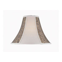 Lite Source Accessories Shade in Brown Jacquard CH175-18