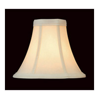 Lite Source CH504-6 Accessories Antique Eggshell Chandelier Shade