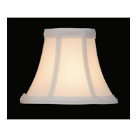 Lite Source CH508-6 Accessories White Chandelier Shade
