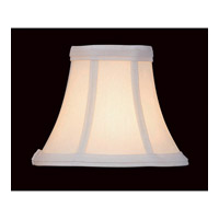 Lite Source CH508-7 Accessories White Chandelier Shade