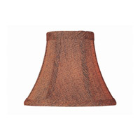 Accessories Rust/Black Chandelier Shade