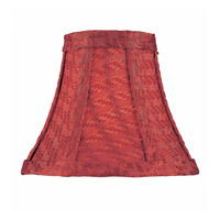 Accessories Red Woven Chandelier Shade