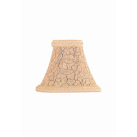 Lite Source Accessories Chandelier Shade in Snake Print Chenille with Trim CH518-7
