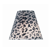 Lite Source Accessories Chandelier Shade in Leopard Printed Fabric CH5191-8