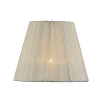 Lite Source CH5207-6 Accessories Cream Pleated Chandelier Shade