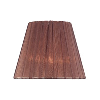 Lite Source Accessories Chandelier Shade in Burgundy Pleated CH5208-5