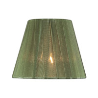 Lite Source Accessories Chandelier Shade in Green Pleated CH5209-6
