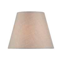 Lite Source Accessories Chandelier Shade in Linen Empire CH5211-6