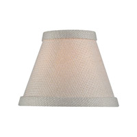 Accessories Cream Chandelier Shade