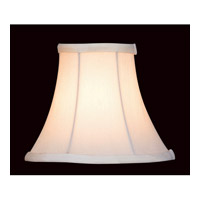 Lite Source CH526-6 Accessories White Chandelier Shade