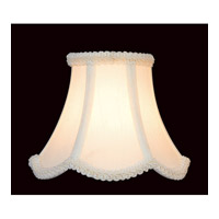 Lite Source CH527-6 Accessories Scallop Chandelier Shade