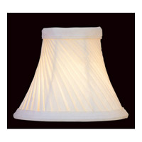 Lite Source CH528-6 Accessories Swirl Pleat Chandelier Shade