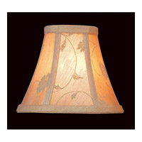 Accessories Beige Jacquard Chandelier Shade