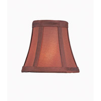 Accessories Burgundy Chandelier Shade