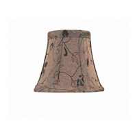 Lite Source Accessories Chandelier Shade in Brown Jacquard CH582-6