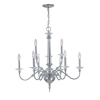 Manica 9 Light 29 inch Chrome Chandelier Ceiling Light