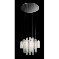 Alfonso 24 Light 24 inch Chrome Chandelier Ceiling Light
