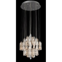Lite Source Itala 12 Light Chandelier in Chrome with Crystal EL-10083